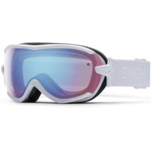Smith Optics Virtue Ski Goggles (For Women) in White Gbf/Blue Sensor - Closeouts