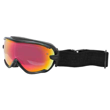 Smith Optics Virtue Ski Goggles - Mirror Lens (For Women) in Black Eclipse/Red Sensor - Closeouts