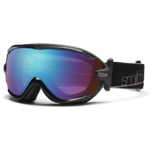Smith Optics Virtue Snowsport Goggles (For Women) in Black/Blue Sensor Mirror - Closeouts