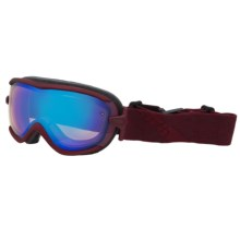 Smith Optics Virtue Snowsport Goggles (For Women) in Merlot Motf/Blue Sensor Mirror - Closeouts