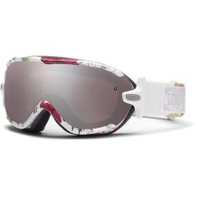 Smith Optics Virtue Snowsport Goggles (For Women) in White Botanical/Ignitor Mirror - Closeouts