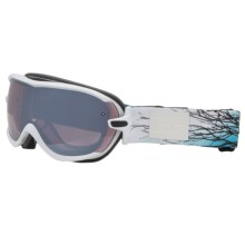 Smith Optics Virtue Snowsport Goggles (For Women) in White Branching Out/Ignitor Mirror - Closeouts