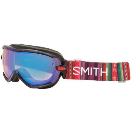 Smith Optics Virtue Spherical Series Snowsport Goggles (For Women) in Black Cherry Cuzco/Blue Sensor - Closeouts