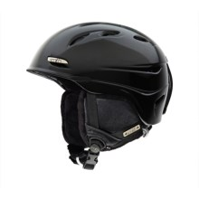 Smith Optics Voyage Snowsport Helmet - BOA® System (For Women) in Black/Gold - Closeouts