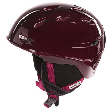 Smith Optics Voyage Snowsport Helmet - BOA® System (For Women) in Merlot