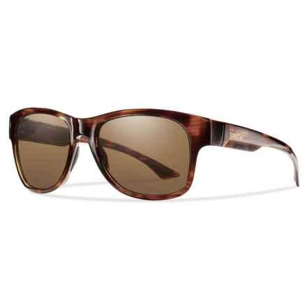 Smith Optics Wayward Sunglasses - Polarized ChromaPop® Lenses in Havana/Brown - Overstock