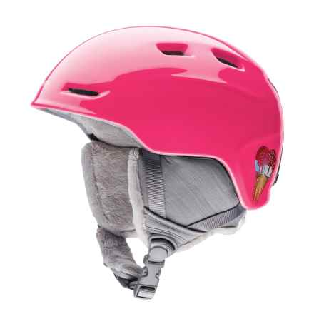 Smith Optics Zoom Jr. Ski Helmet (For Little and Big Kids) in Pink Sugar Cone - Closeouts