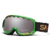 Smith Sport Optics Gambler Snowsport Goggles - Graphic Frame, Mirror Lens (For Youth) in Irie Fader/Ignitor Mirror - Closeouts