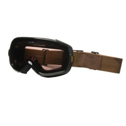 Smith Sport Optics Heiress Snowsport Goggles with Spherical Mirror Lenses (For Women) in Black Brooklyn/Ignitor Mirror