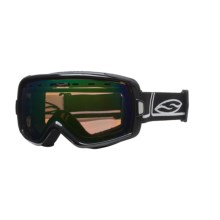 Smith Sport Optics Heiress Snowsport Goggles with Spherical Mirror Lenses (For Women) in Black Foundation/Green Sol-X Mirror - Closeouts