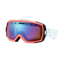 Smith Sport Optics Heiress Snowsport Goggles with Spherical Mirror Lenses (For Women) in Tiki Rfc/Sensor Mirror - Closeouts