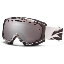 Smith Sport Optics Phenom Goggles - Spherical Lens in White Film/Ignitor Mirror - Closeouts