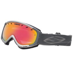 Smith Sport Optics Phenom Snowsport Goggles - Spherical Lens in Graphite/Red Sensor