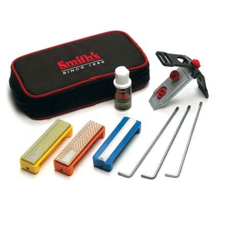 Smith's 3-Stone Diamond Precision Sharpening System in See Photo - Closeouts