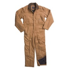 Smith's American Quilt-Lined Canvas Coveralls (For Men) in Nougat - Closeouts