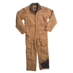 Smith's American Quilt-Lined Canvas Coveralls (For Men) in Nougat