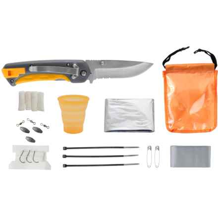 Smith's Outdoor Multi-Tool and Survival Kit in See Photo - Closeouts