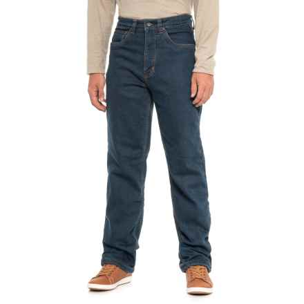 Smiths Work Polar Fleece-Lined Jeans (For Men) in Dark Vintage Wash - Closeouts