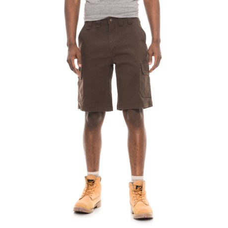 Smith's Workwear Canvas Cargo Shorts (For Men) in Coffee