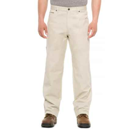 Smith's Workwear Canvas Carpenter Work Pants (For Men) in Stone - Closeouts