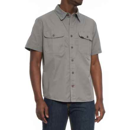Smith's Workwear Classic Twill Work Shirt - Short Sleeve (For Men) in Charcoal - Closeouts