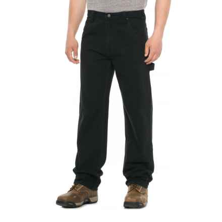 Smith's Workwear Duck Carpenter Pants (For Men) in Black - Closeouts