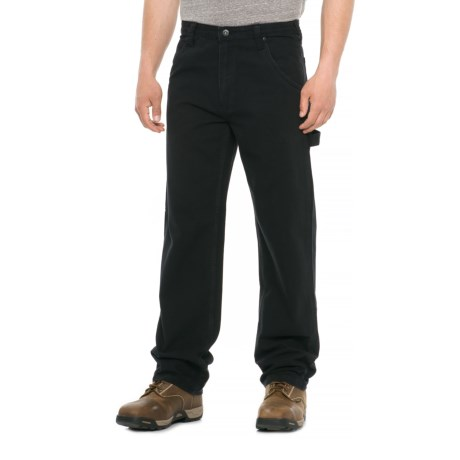 Smith's Workwear Duck Carpenter Pants (For Men) in Black