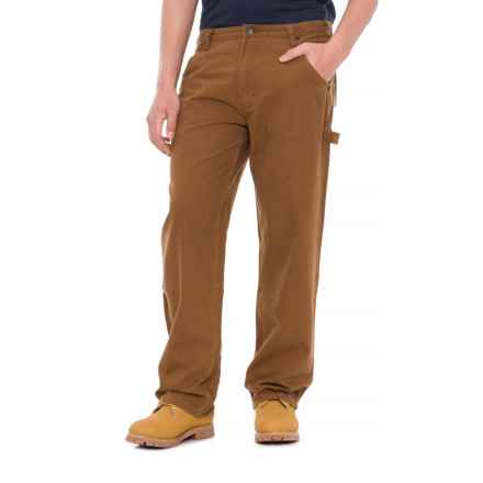 Smith's Workwear Duck Carpenter Pants (For Men) in Nutmeg - Closeouts