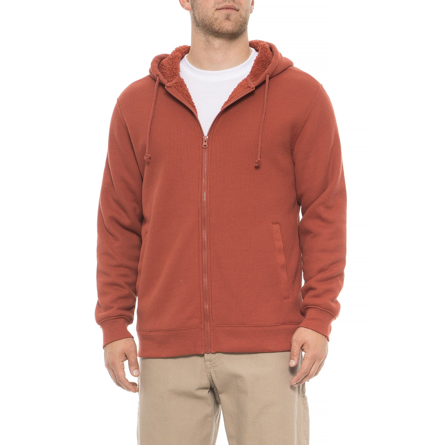 Smith's Workwear Fleece Lined Thermal Hoodie (For Men)