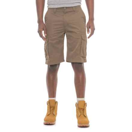 Smith's Workwear Ripstop High-Performance Cargo Shorts (For Men) in Dark Sandstone - Closeouts
