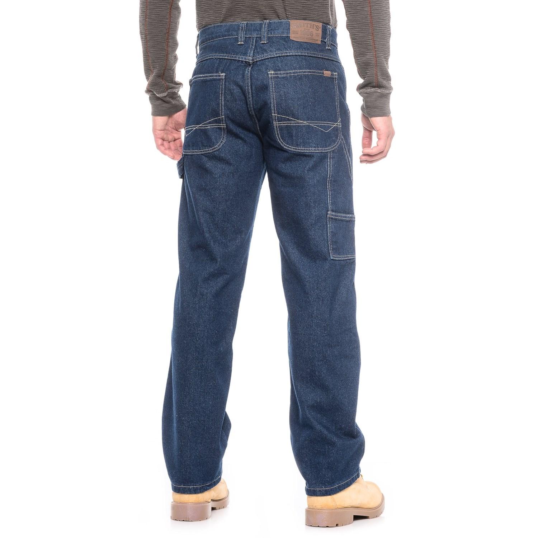 Women Flannel Lined Jeans
