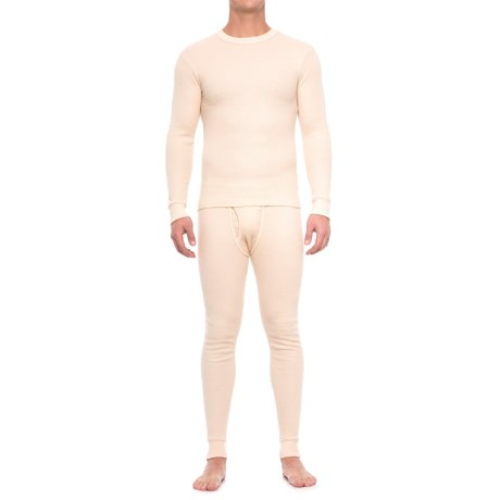 Smith's Workwear Thermal Base Layer Set - Long Sleeve (For Men) in Ecru
