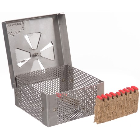 Smokehouse Stainless Steel Smoker Box with Draft Control in See Photo