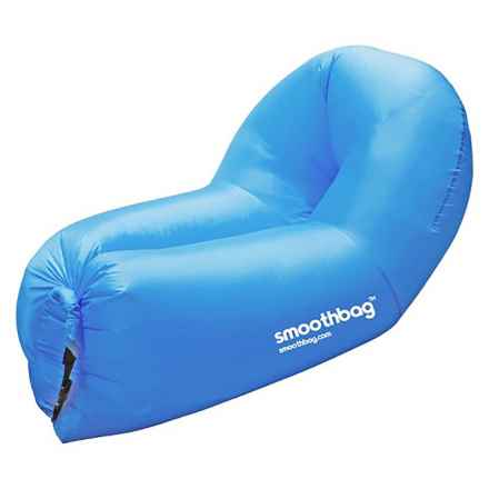 SMOOTHBAG Portable Inflatable Lounging Sofa in Blue - Closeouts