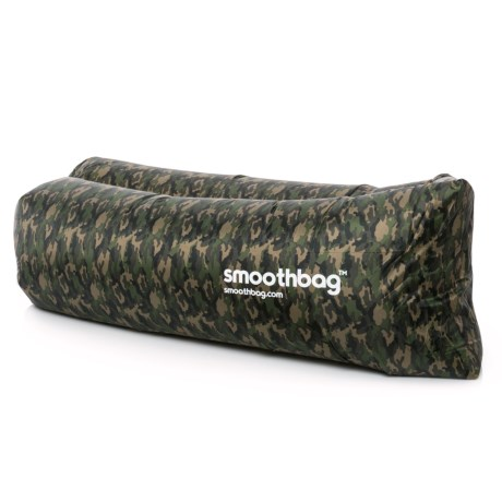 SMOOTHBAG Portable Inflatable Lounging Sofa in Camo