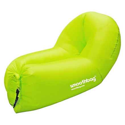 SMOOTHBAG Portable Inflatable Lounging Sofa in Green - Closeouts