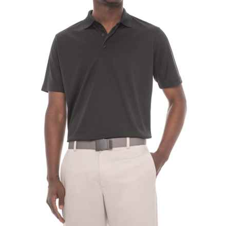 Snake Eyes Solid Polo Shirt - Short Sleeve (For Men) in Black - Closeouts