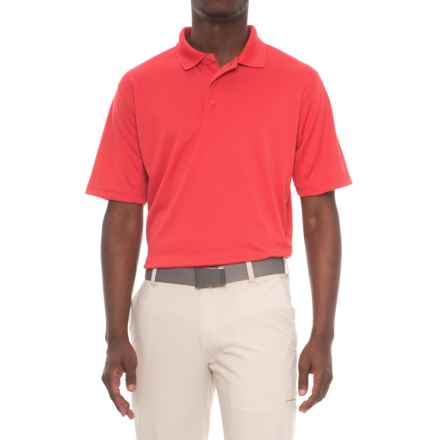 Snake Eyes Solid Polo Shirt - Short Sleeve (For Men) in Red - Closeouts