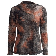 Sno Skins Paper Mache Shirt - Cowl Neck, Long Sleeve (For Women) in Autumn - Closeouts