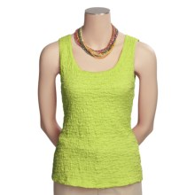 Sno Skins Pucker Cotton Tank Top (For Women) in Limon - Closeouts