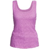 Sno Skins Pucker Cotton Tank Top (For Women)