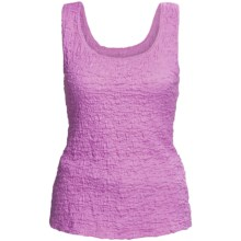 Sno Skins Pucker Cotton Tank Top (For Women) in Orchid - Closeouts