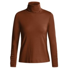 Sno Skins Turtleneck - Long Sleeve  (For Women) in Sienna - Closeouts