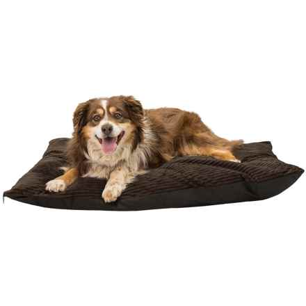 """SnooZZy Softies Dog Bed - 28x40"""" in Chocolate - Closeouts"""