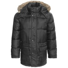 Snorkel Parka - Insulated (For Men) in Black - 2nds