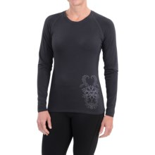 Snow Angel Angel Cashmere Shirt - Long Sleeve (For Women) in Black - Closeouts