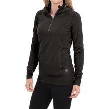 Snow Angel Backwoods Base Layer Top - Zip Neck, Long Sleeve (For Women) in Black - Closeouts