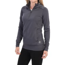 Snow Angel Backwoods Base Layer Top - Zip Neck, Long Sleeve (For Women) in Charcoal - Closeouts
