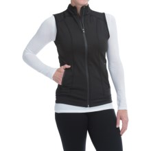 Snow Angel Backwoods Vest - Zip Front (For Women) in Black - Closeouts
