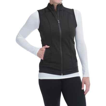 Snow Angel Backwoods Vest - Zip Front (For Women) in Black - Closeouts